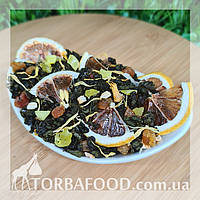 Чай зелений з лимоном 100 грам, фото 1