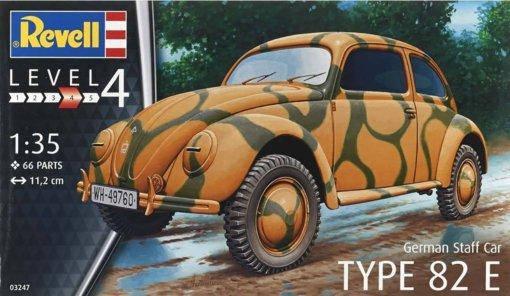 Revell 1/35 German Staff Car TYPE 82 E, фото 2