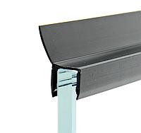 Уплотнитель для душевой кабины, черный ( ФС0508 22 БЛ ) длиной 2.2 м.