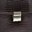 Мужской кожаный портфель DESISAN, фото 6