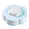 Менажница,вращающаяся тарелка-органайзер для закусок Kitchen Boxes (Цвет-голубой), фото 6