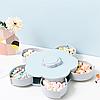 Менажница,вращающаяся тарелка-органайзер для закусок Kitchen Boxes (Цвет-голубой), фото 9