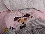 ТМ TAG Стеганное покрывало R7624 pink, фото 2