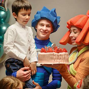 Фиксики на день рождения. Аниматоры на детский праздник Киев!