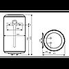Водонагрівач побутовий електричний Atlantic Steatite Elite VM 100 D400-2-BC (1500W), фото 2