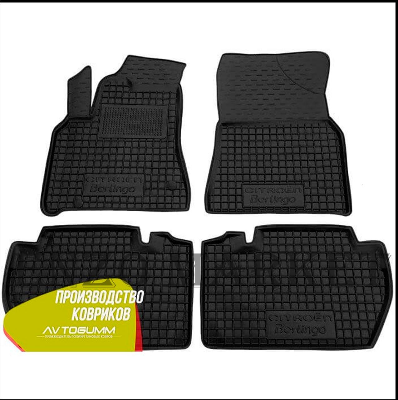 Автомобільні килимки в салон Citroen Berlingo 08-/Peugeot Partner 08- (Avto-Gumm)