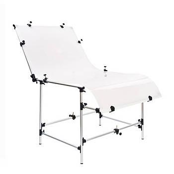 Предметный стол DNP PLST 6013 для предметной съемки 60*130см с чехлом