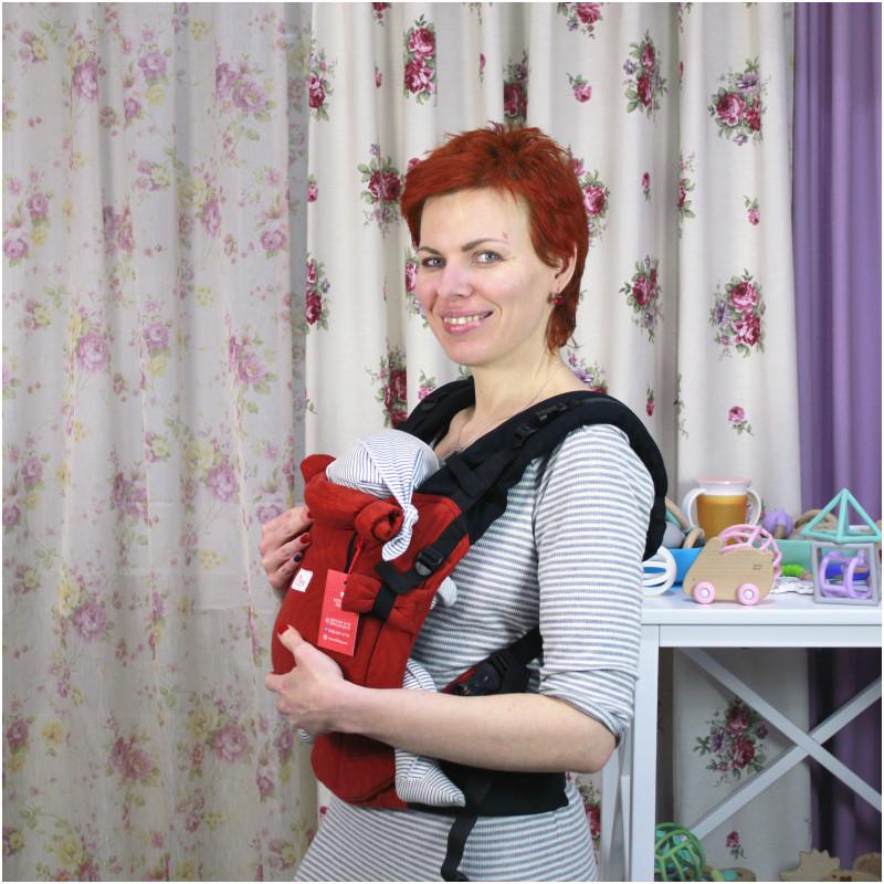 Травень-рюкзак DI SLING Adapted Terracotta