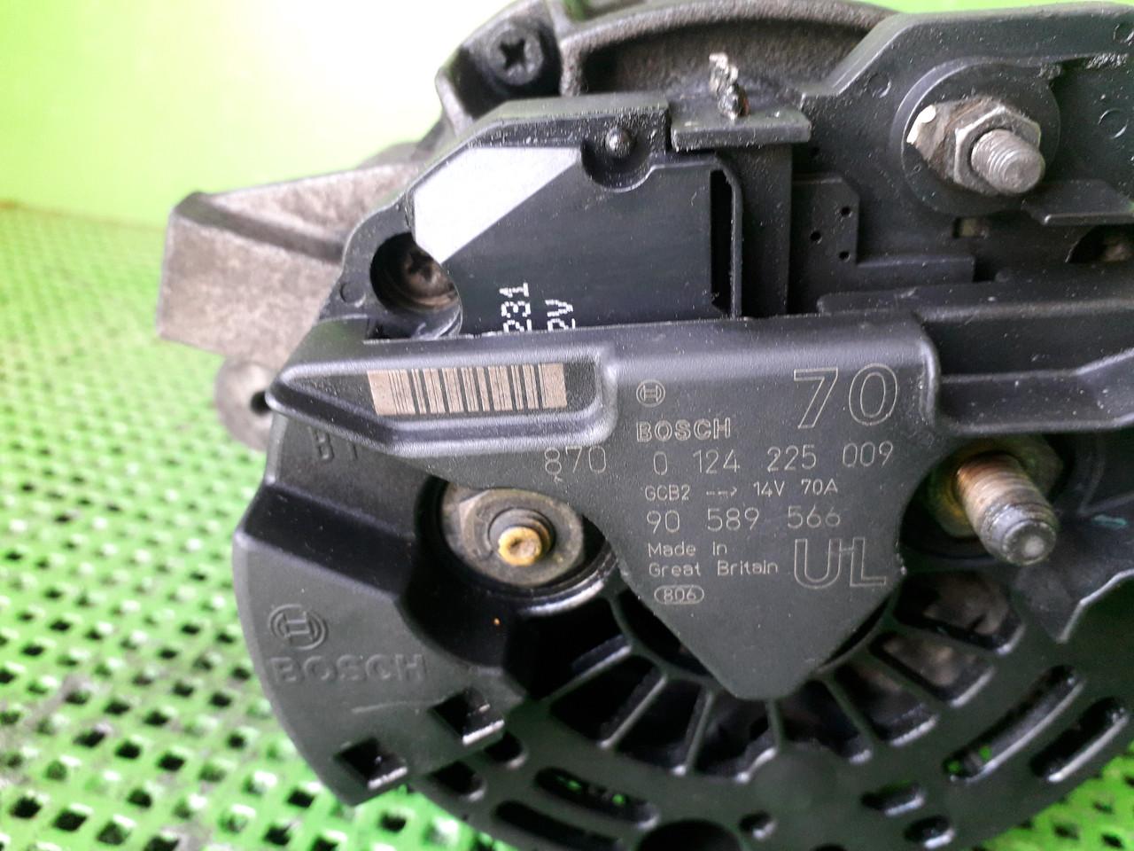 0124225009 Генератор/щетки для Opel Astra G 1.7TD