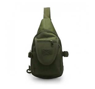 Тактична міська сумка через плече A32, олива