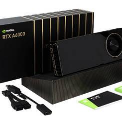 Нві Профессиональные Графические видеокарты Nvidia RTX A6000 48 ГБ для рабочих станций