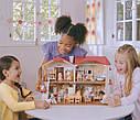 Sylvanian Families Загородный дом с красной крышей 2 фигурки со светом и мебелью 5383 Calico Critters CC1797, фото 10