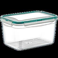 Контейнер Fresh Box прямоугольный 2,4 л прозрачный Irak Plastik