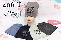 Дитяча шапка, 52-54 см, № 406, фото 1