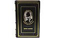 """Книги для домашней библиотеки в кожаном переплете """"Избранные сочинения"""" Борис Акунин (15 томов), фото 2"""