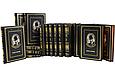 """Книги для домашньої бібліотеки в шкіряній палітурці """"Вибрані твори"""" Борис Акунін (15 томів), фото 3"""