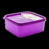 Бокс для морозильной камеры 0,65 л узкий Alaska фиолетовый