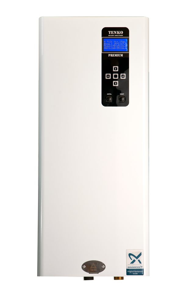 Котел електричний Tenko ПКЕ12_380 Преміум з насосом