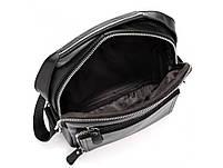 Барсетка мужская кожаная через плечо Tiding Bag M2432 черная, фото 2