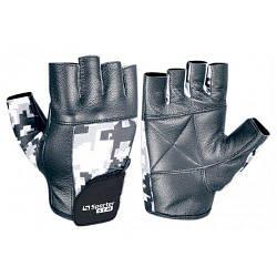 Перчатки для фитнеса MFG-227 (черный/камуфляж)