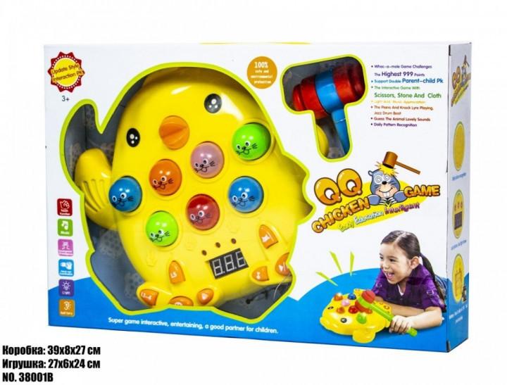Детская музыкальная игрушка Цыпленок 38001B