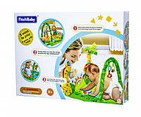 """Дитячий розвиваючий ігровий килимок для немовляти Fitch Baby """"Тропічний ліс"""" (8502), фото 1"""