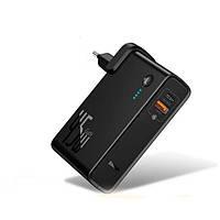 Зарядний пристрій 2 в 1, зовнішній акумулятор 10000 мА / год, фото 1