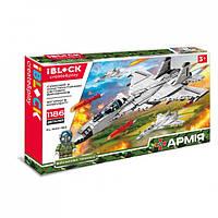 Конструктор літаків IBlock Армія PL-920-182 1186 деталей, фото 1