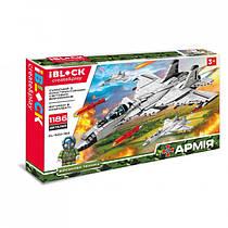 Конструктор самолет IBlock Армия PL-920-182 1186 деталей