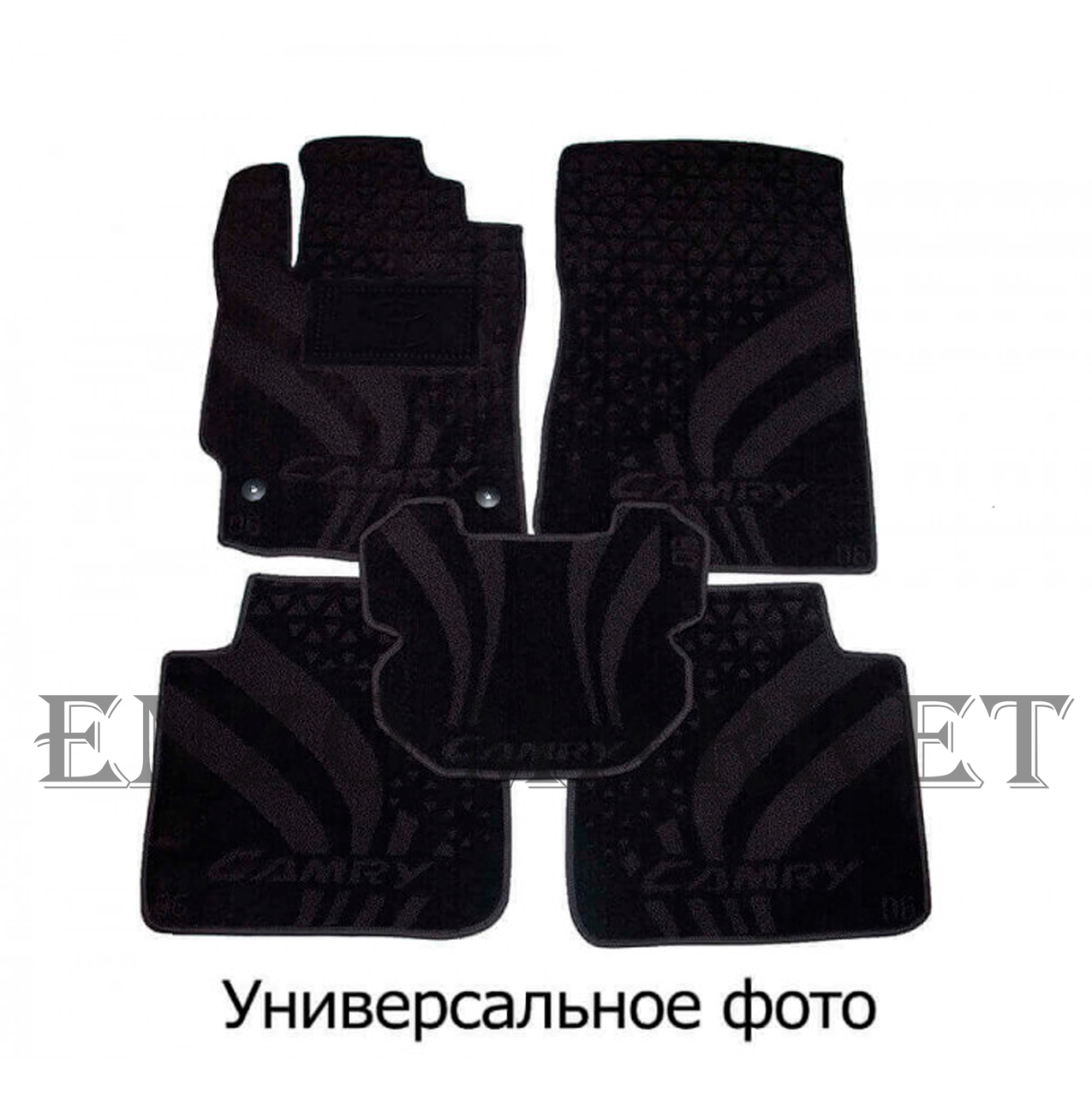 Текстильні автоковрики в салон Peugeot Rifter 19-/Citroen Berlingo 19 - TOP (AVTO-Tex)