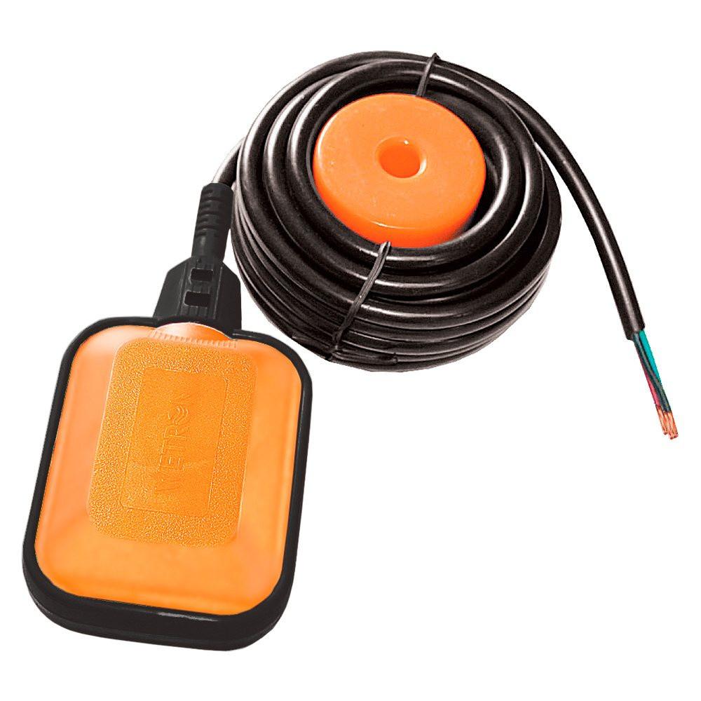 Вимикач поплавковий універсальний кабель 3м×0.75мм² з балластом Wetron 779661
