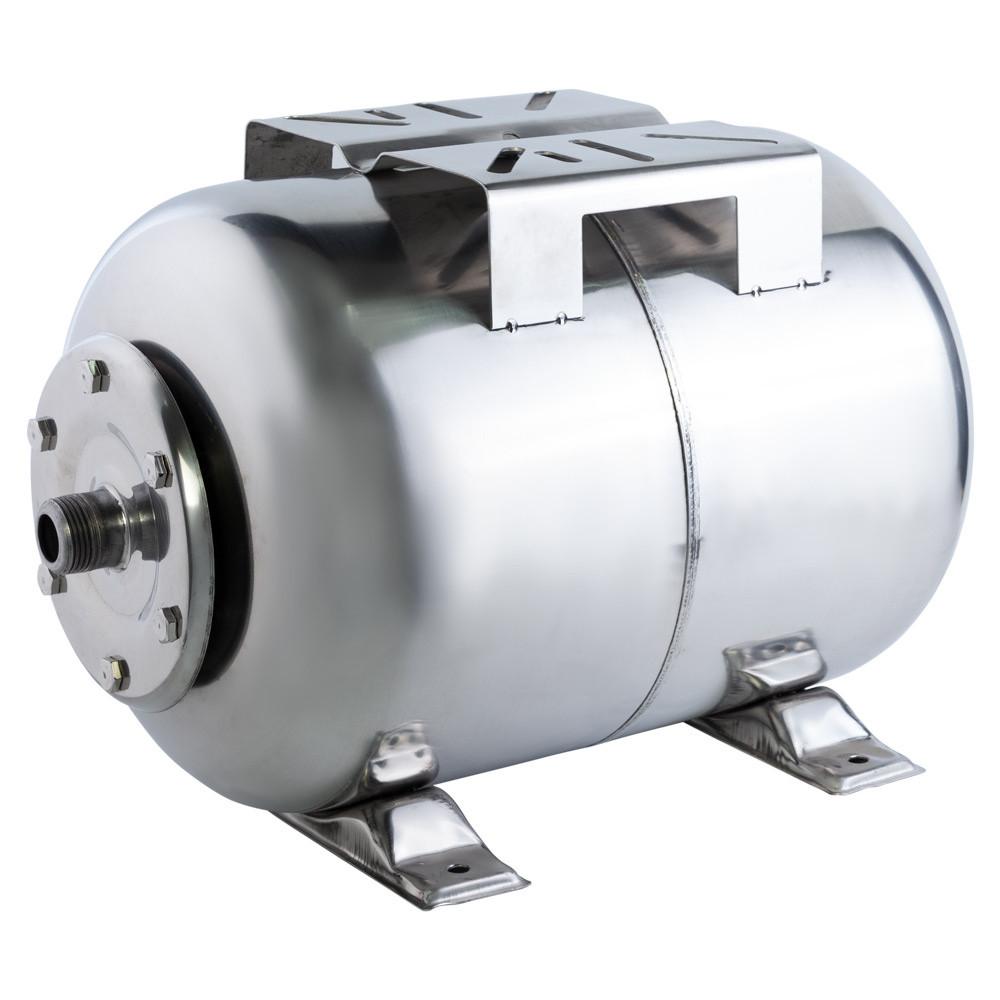 Гідроакумулятор горизонтальний 50л (нерж) Wetron 779213