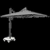 Зонт Banana Plus квадратный 3 x 3 м серый рама антрацит