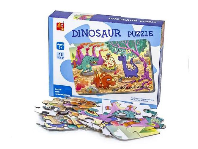 Детские пазлы Динозавры LL303