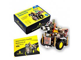 Набор умный робот подвижная интеллектуальная-черепаха для Arduino