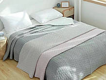 Покривало на ліжко лляне 200*230