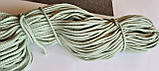 Шнур поліефірний з сердечником 5мм №35 Тіфані, фото 2
