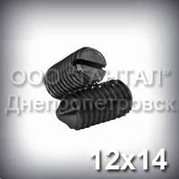Винт М12х14 ГОСТ 1476-93 (DIN 553, ISO 7434) - гужон установочный с острым концом