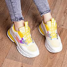 Кросівки жіночі Fashion Coojo 2237 36 розмір 23 см Білий, фото 3