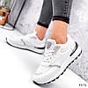 Кросівки жіночі Mela білі + сірі 3372, фото 4