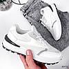 Кросівки жіночі Mela білі + сірі 3372, фото 10