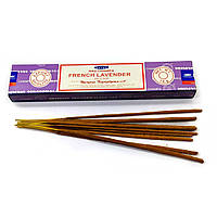 Аромапалочки Французская лаванда Благовоние French Lavende Satya для отдыха