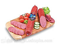 Колбаса Nitran палка 700г Нитран сырокопченная
