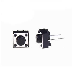 10x Кнопка тактовая, микрик, DIP 2 контакта, 6x6x5мм