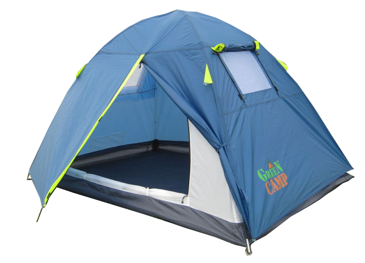 Двомісна Палатка GreenCamp 1001B
