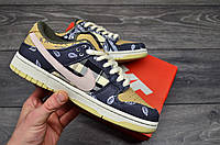 Мужские кроссовки Nike SB Dunk Low x Travis Scott
