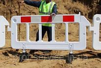 Дорожный барьер для ограждения пластиковый