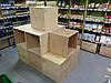 Интерьер магазинов, Мебельный щит