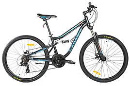 """Двопідвісний велосипед Crosser Legion 26"""""""