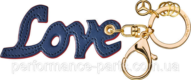 Брелок Mercedes Love Key ring, Blue / Red b66953619